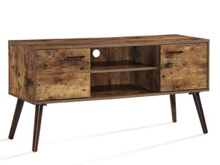 Amarah Mid Century Modern Wood TV Stand by Christopher Knight Home  Retail 146 99