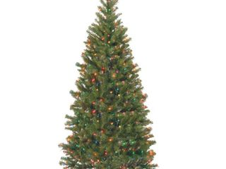 6 ft  Aspen Spruce Tree with Multicolor lights   6  Retail 99 99