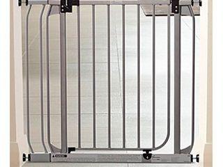 Dreambaby Dawson Auto Close Stay Open Security Gate Silver