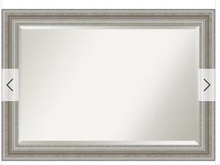 The Gray Barn Parlor Silver Bathroom Vanity Wall Mirror Retail 85 99