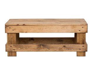 landmark Pine Wood Coffee Table  Retail 99 99