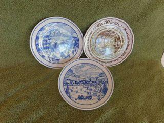 Three German Collector Plates