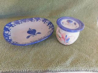 Two Kitchen Serving Items