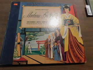 Vintage Record Set   Madame Butterfly