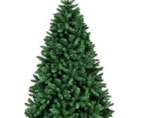 Unlit Douglas Full Fir Hinged 6ft x 3 6ft Artificial Christmas Tree Premium