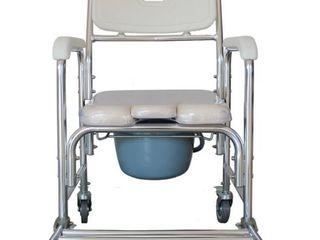 Multifunctional Heavy Duty Memory Foam Cushion Commode Chair Adult Bathroom Toilet Seat