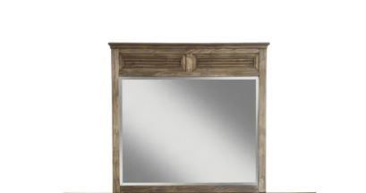 Origins Remington Wood And Glass Dresser Mirror Approximately 39x40 5