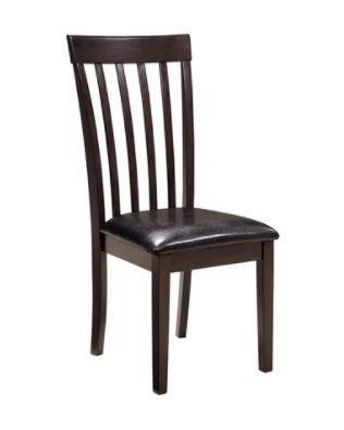 Hammis Dining Room Chair   Missing 2 legs  Set of 2   Dark Brown  Retail 128 99