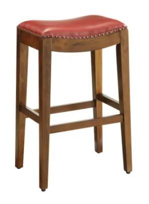 Copper Grove Five Bridge 29 inch Saddle Style Bar Stool with Nail Head Accents  Retail 99 99