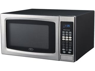 Oster Sensor Stainless Steel Black Microwave Oven