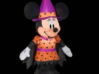 48  Inflatable Halloween Minnie Mouse
