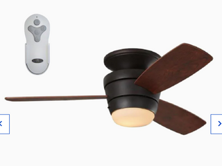 Harbor Breeze Mazon 44 In led Ceiling Fan Bronze With Remote
