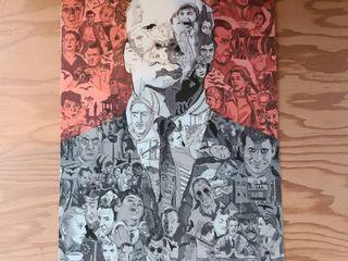 Amazing   Alfred Hitchcock illustration