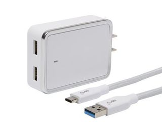 Blackweb 4 8A USB Type C to Type A Cable and Wall Charger Kit