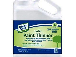 2pk Klean Strip Green Paint Thinner Clean   Thins  128 Fl  Oz