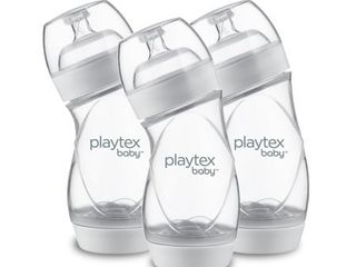 Playtex Baby VentAire Complete Tummy Comfort Baby Bottles  6 oz  3 pk