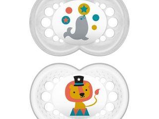 MAM Pacifiers  Baby Pacifier 6  Months  Best Pacifier for Breastfed Babies  IJOriginalIJ Design Collection  Unisex  2 Count