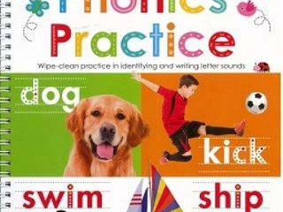 ready set learn alphabet and phonics practice books