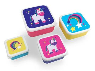 So Mine lunch Container   Unicorn   4ct