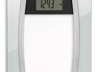 Body Analysis Glass Scale Silver   Weight Watchers