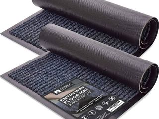 Sierra concepts entryway floor mat two pack