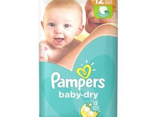 Pampers Baby Dry Extra Protection Diapers  Size 1  44 ct