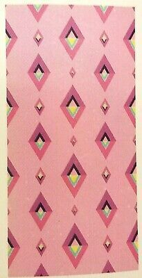 Pink Multicolor Beach Towel   28 X 58 Inches   100  Cotton