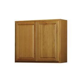 Portland Oak Double Door Kitchen Wall Cabinet