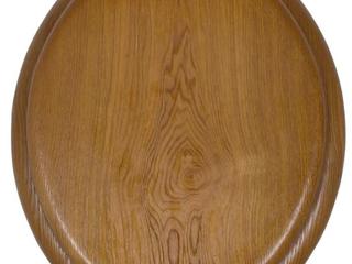 Round Wood Toilet Seat