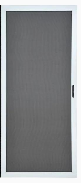 White Screen Door