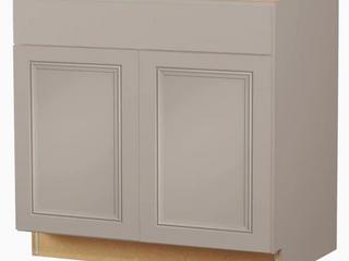 Grey Base Cabinet   No Top