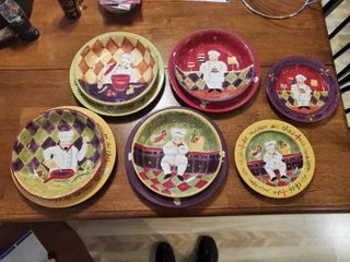 10 Piece Set of Certified International Jennifer Dishes