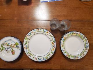 16 Piece Set of Provence Designed by Apple Dishes
