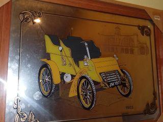 1903 Motor Buggy Mirror