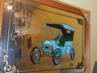 1908 Motor Buggy Mirror