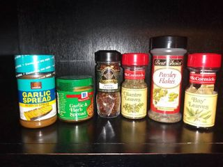 lot of 6 Spices in Original Containers Unopened