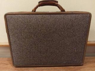 Vintage Hatmann luggage Briefcase