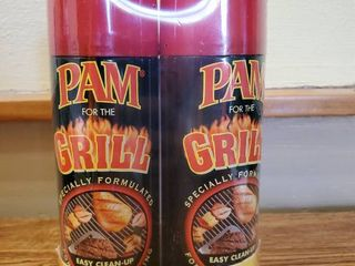 Twin Pack PAM for the Grill 2 5 oz Cans