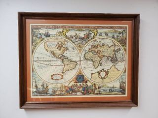 Map Nova Totivs Terrarvm Orbis Geographica Ac Hydrographica Tabvla