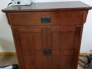 Cherry Stain Cabinet