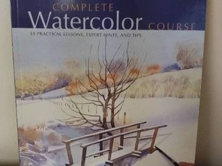 Complete Watercolor Course  35 Practical lessons  Expert Hints  and Tips