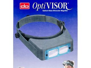 Donegan DA 5 OptiVisor Headband Magnifier  2 5x Magnification  8  Focal length