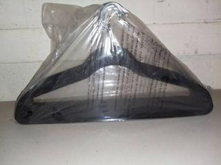 lot of 15 Black Felt Hangers