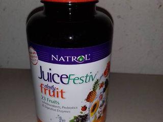 Juice Festiv Daily Fruit   Veggie  antioxidants  Probiotics   Digestive Enzymes