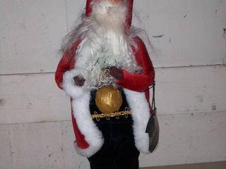 Byers Choice Red Victorian Santa 1999
