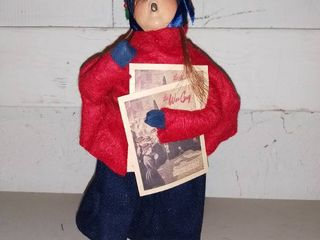 Byers Choice Caroler Holding the War Cry