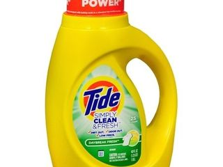 Tide   Simply Clean   Fresh liquid laundry Detergent 40 00 oz
