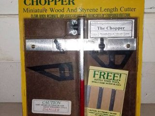 NWSl the Chopper Miniture Wood and Styrene length Cutter