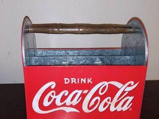 Tin Coca Cola Caddy
