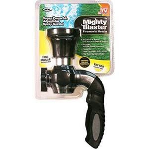 Hose Nozzle  As Seen on TV Mighty Blaster Fireman s Nozzle